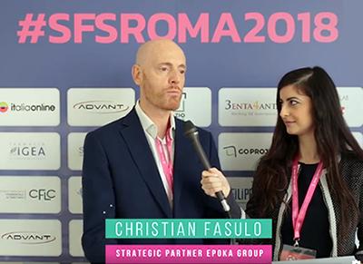 Christian Fasulo, Intervista all'SFS Roma 2018