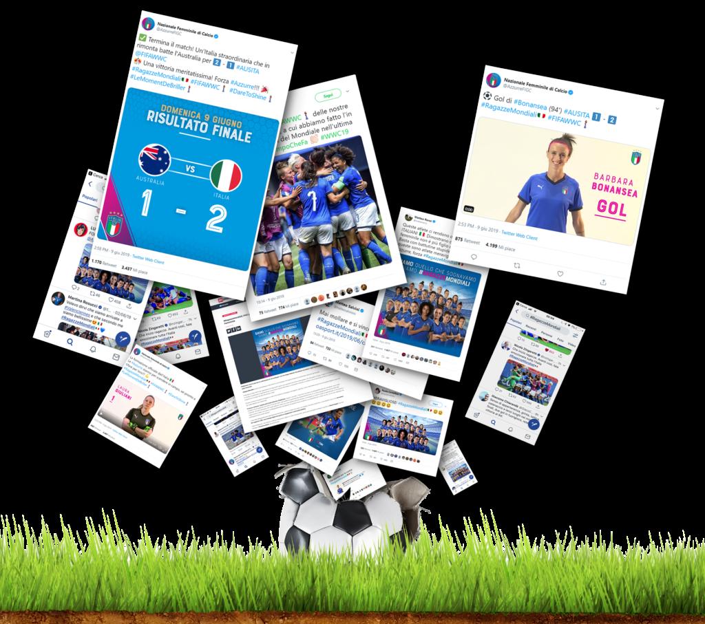 Social Strategy: Creatività per la Nazionale Femminile di Calcio