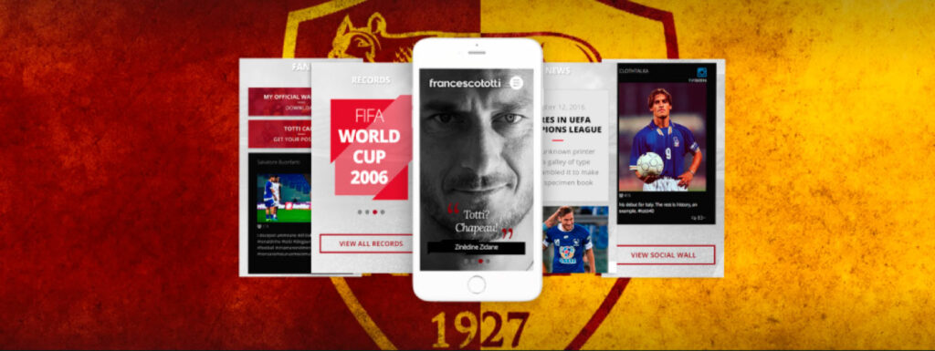 Web Reputation per Francesco Totti
